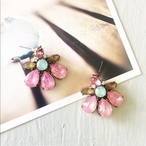 "Jewelry - ""Emma"" Pink Stud Earrings"